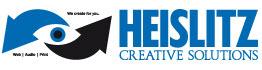 Das Firmenlogo von Heislitz Creative Solutions - Web, Print, Photography und Audio.